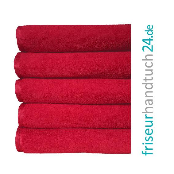 Handtuch Rot Mikrofaser