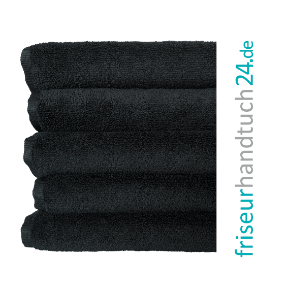 Mikrofaser Handtuch Schwarz